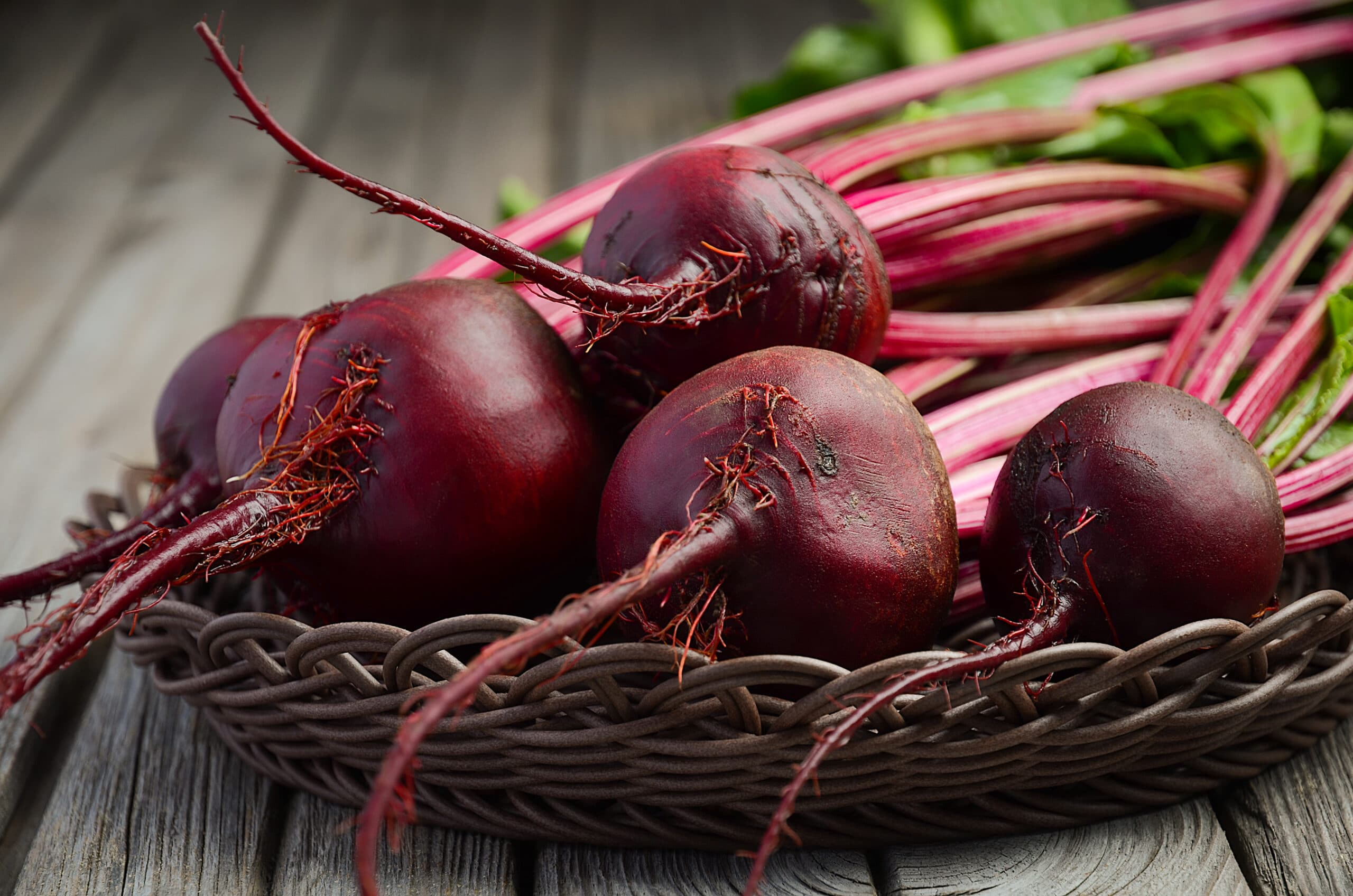 bunch-fresh-organic-beets-rustic-wooden-table