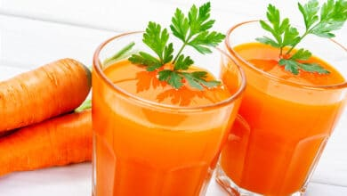 Carrot juice health benefits and Side Effects